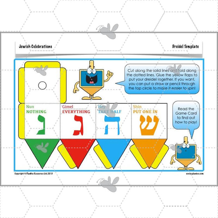 PlanBee Jewish Celebrations - KS2 Primary RE Lesson Plans & Resources