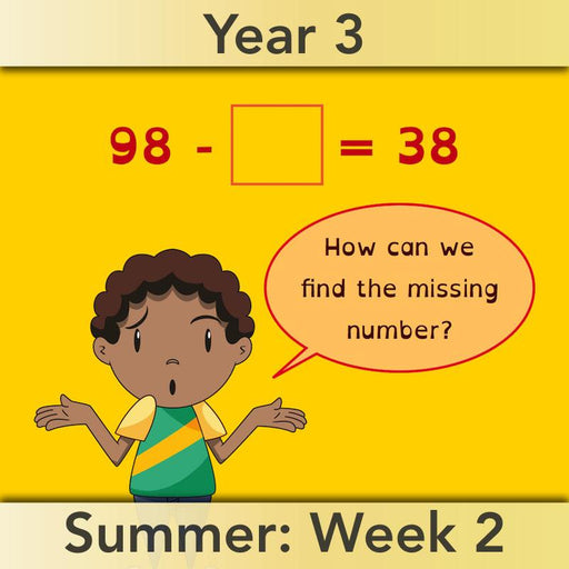 PlanBee Knowing Number Facts: Addition & Subtraction - Year 3 Maths Lessons