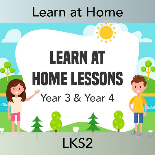 PlanBee PlanBee Lesson Pack of Home Learning Ideas KS2