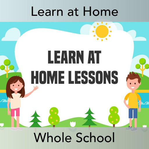 PlanBee Whole School Learn at Home Lesson Pack by PlanBee
