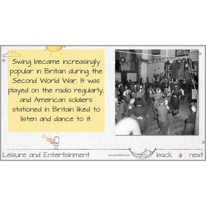 PlanBee Leisure and Entertainment: Primary History Lesson Plans - KS2 Year 6