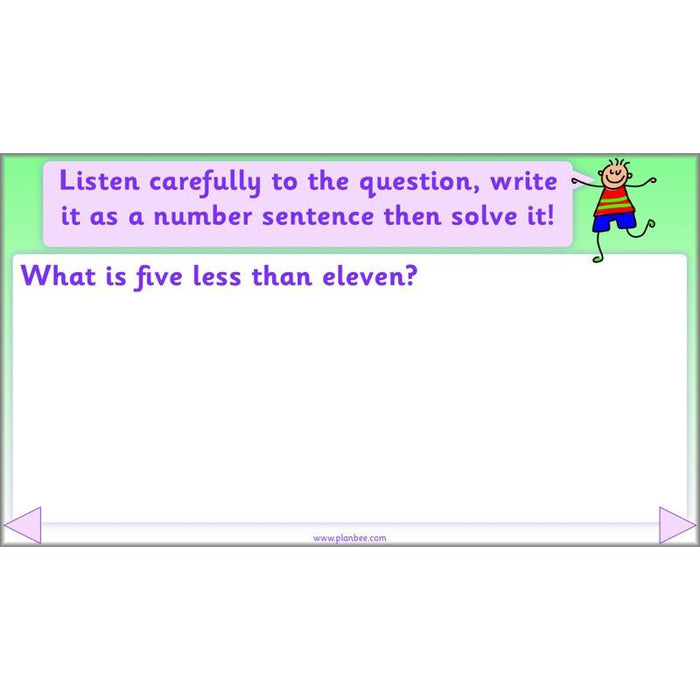 PlanBee Let's add and subtract objects - KS1 maths number plans
