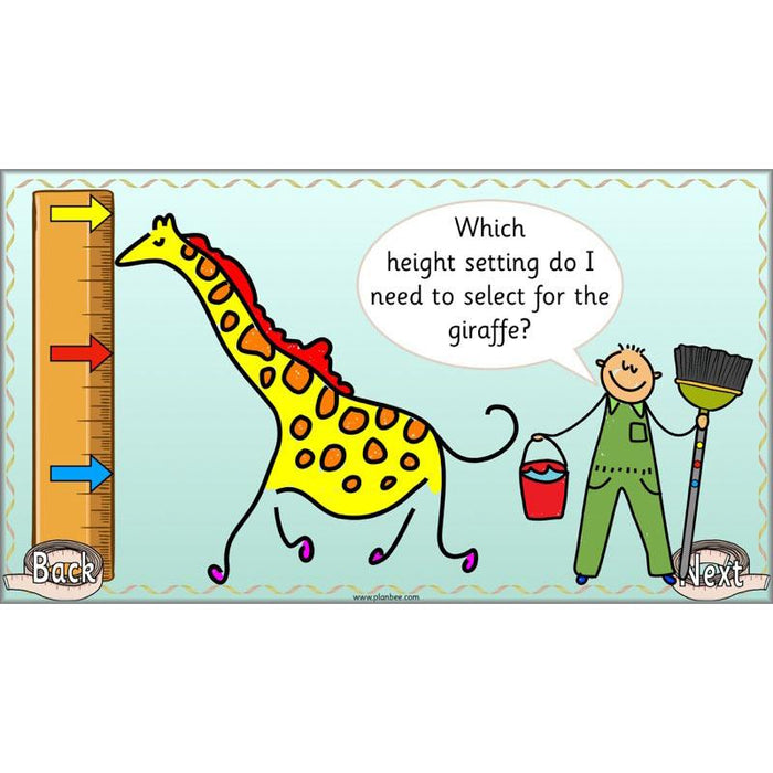 Let's Compare Length, Height and Mass