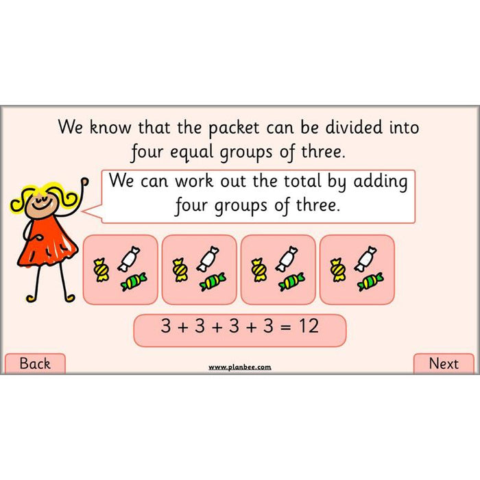 PlanBee Let's Find Fractions - Year 2 Maths - Measurement Planning