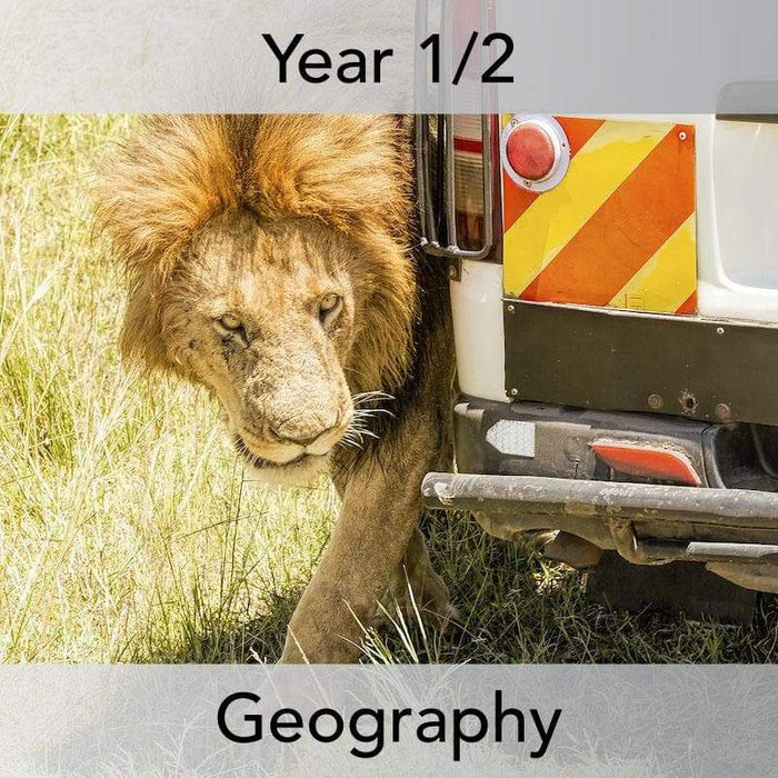 PlanBee Let's go on Safari: Kenya KS1 Geography Lesson Plans