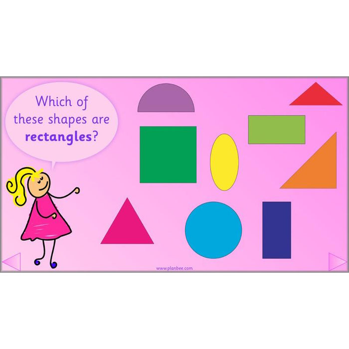 Let's Identify 2-D Shapes