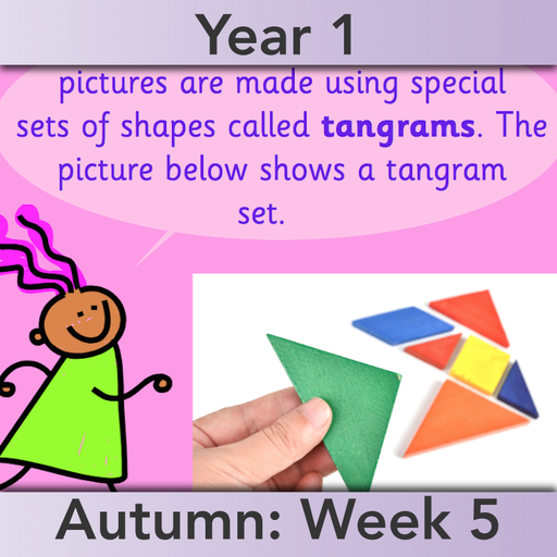 PlanBee Names of 2D shapes Year 1 Maths by PlanBee