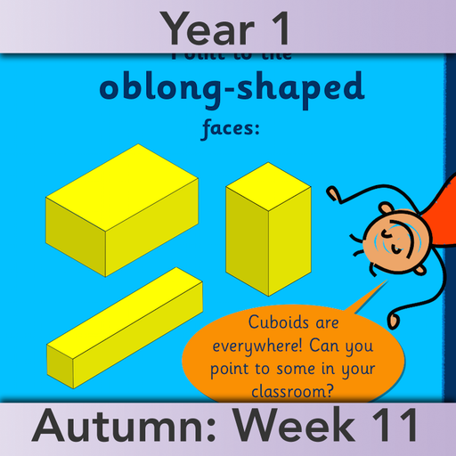 PlanBee Names of 3D shapes Year 1 Shape Lessons | PlanBee