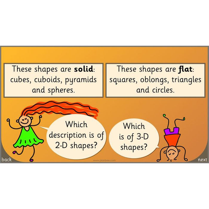 Let's identify and use shapes