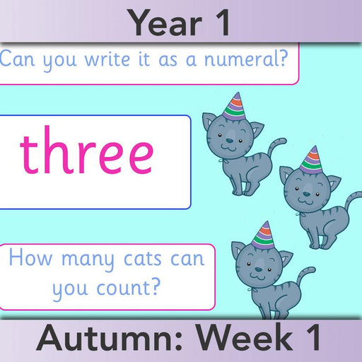 PlanBee Identify Numbers 1-20 Year 1 Maths by PlanBee