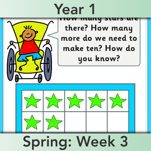 PlanBee Let's learn number bonds - KS1 complete planning