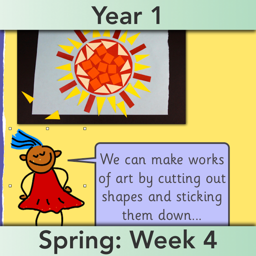 PlanBee Make Shapes Year 1 Shape Maths Lessons | PlanBee
