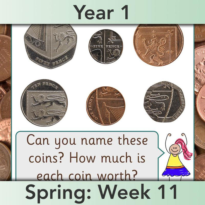 Let's Make Totals Using Coins 2