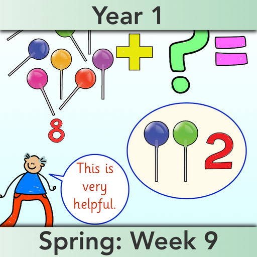 PlanBee Let's solve missing number problems - Year 1 KS1 Maths plans