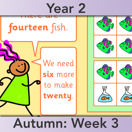 PlanBee Let's Use Number Bonds! KS1 Maths Lessons and Resources Year 2