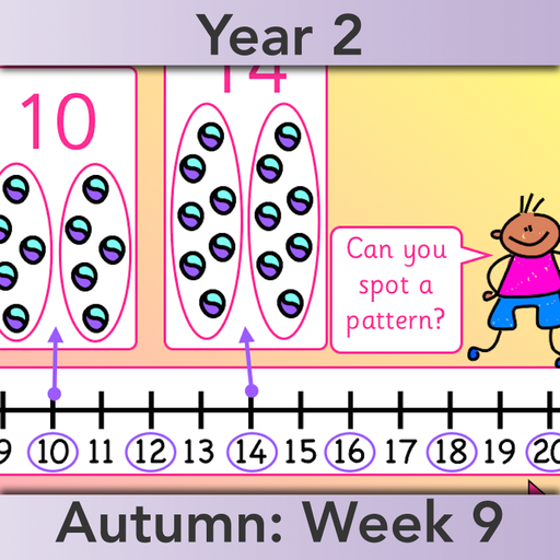 PlanBee Let's use number patterns: Year 2 number sequences