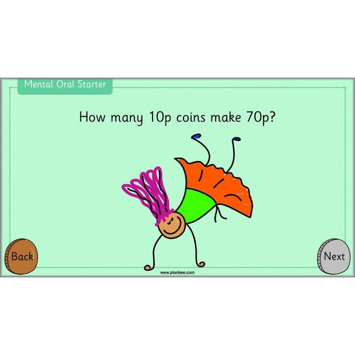 PlanBee Let's Use Pounds and Pence - KS1 Year 2 Maths - Measurement