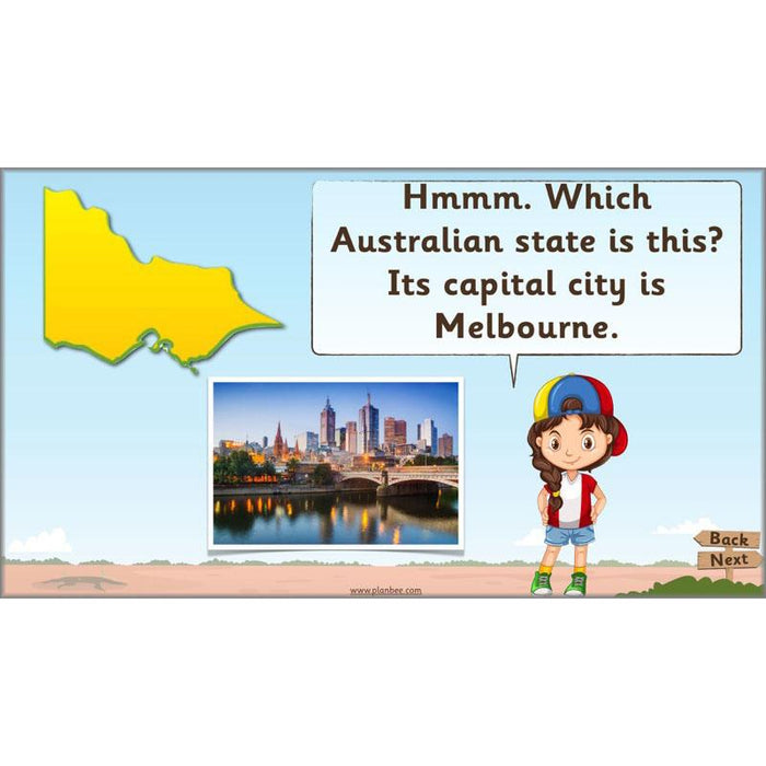 Let's Visit Australia: States and Territories