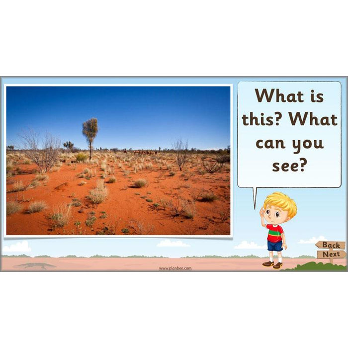 PlanBee Let's visit Australia - KS1 Geography lessons: Year 1 & Year 2