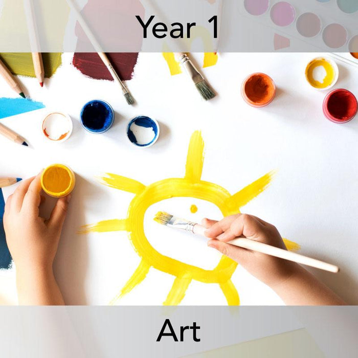 PlanBee Mark Making Ideas | Year 1 art lessons by PlanBee