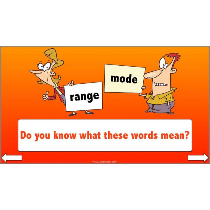 Mean, Mode and Median