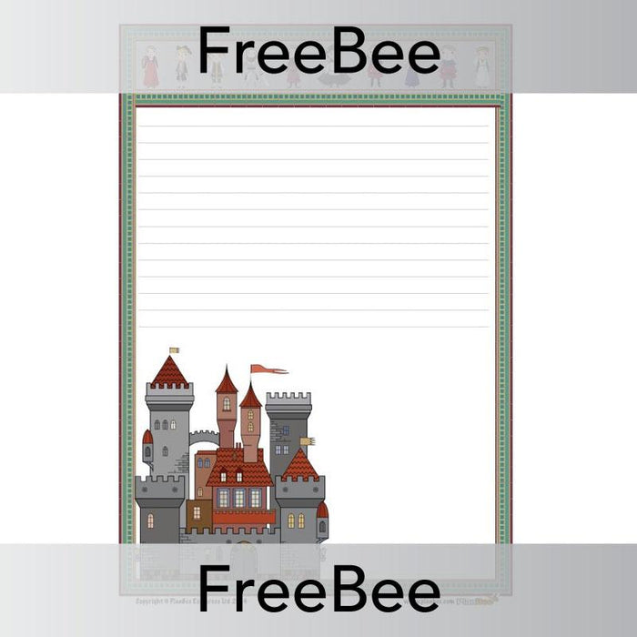 Medieval Castle Writing Frame