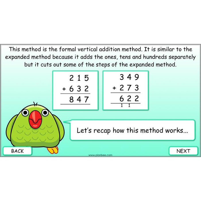 Methods of Addition
