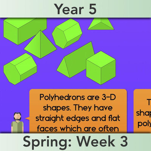 PlanBee Year 5 Shape KS2 Geometry Maths Lessons by PlanBee
