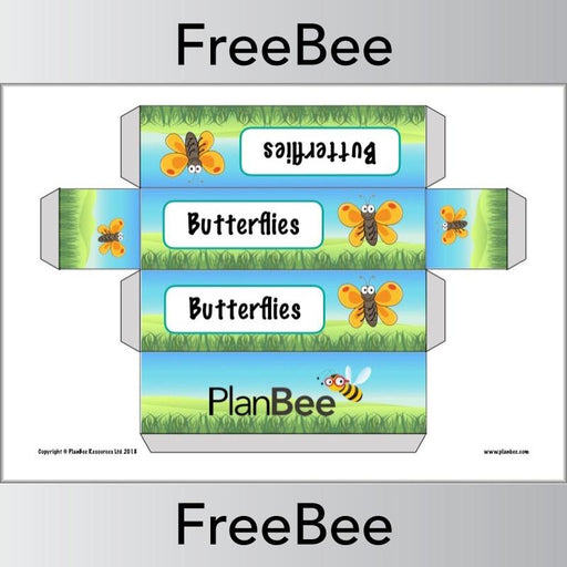 PlanBee Insect Group Name Labels | PlanBee FreeBees