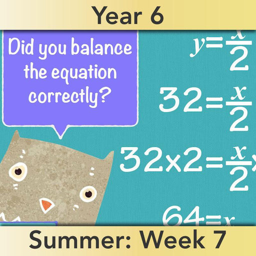 PlanBee More About Algebra: Year 6 algebra worksheets