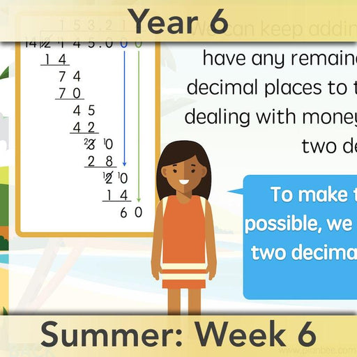 PlanBee More Multiplication and Division - Year 6 Maths Planning and Resources