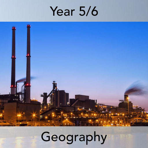 PlanBee Natural Resources: KS2 Geography scheme of work Year 5 & Year 6