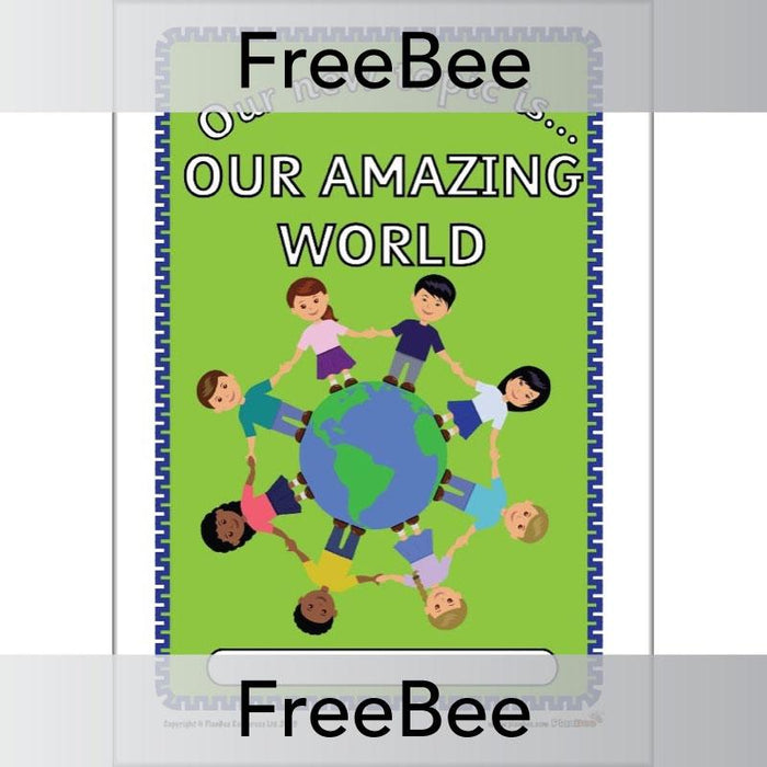 PlanBee Our Amazing World Topic Bundle COver