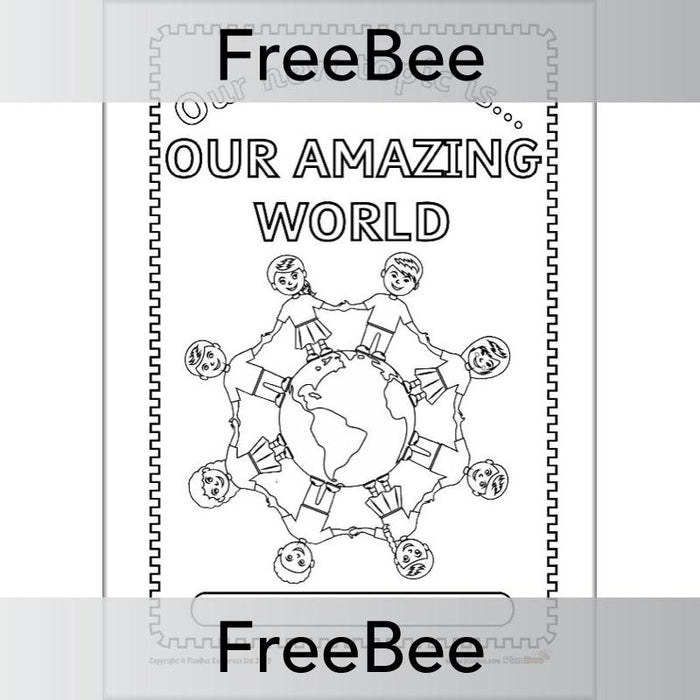 Our Amazing World Topic Bundle Cover