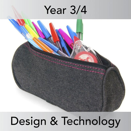 PlanBee Pencil Cases - Textiles: DT Lesson Plans for KS2 Year 3