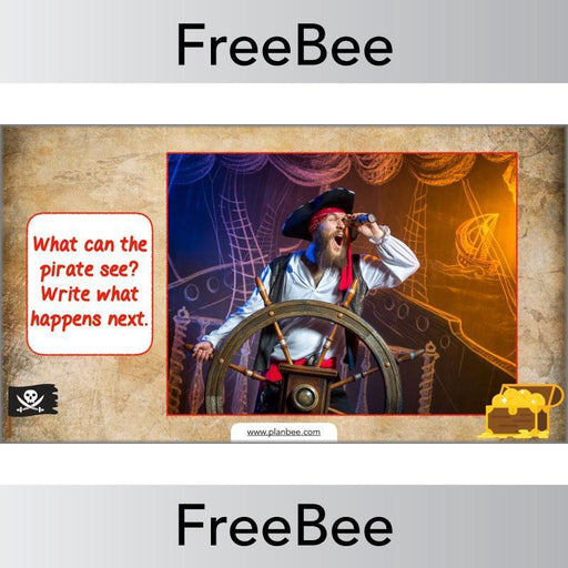 PlanBee Free Pirate Themed Activities for Kids by PlanBee
