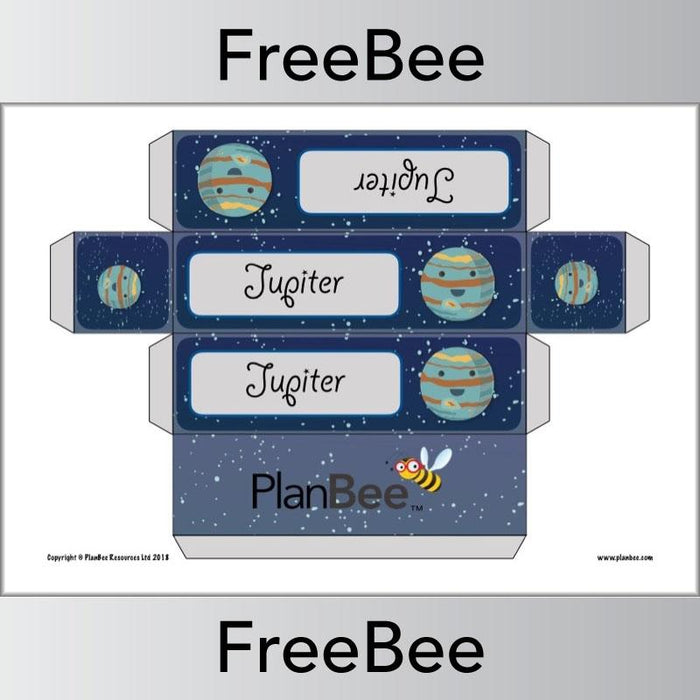 PlanBee Planets Group Name Labels | PlanBee FreeBees