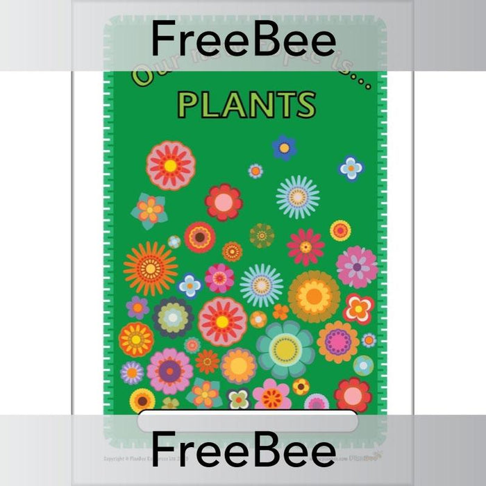 Plants Topic Book Cover