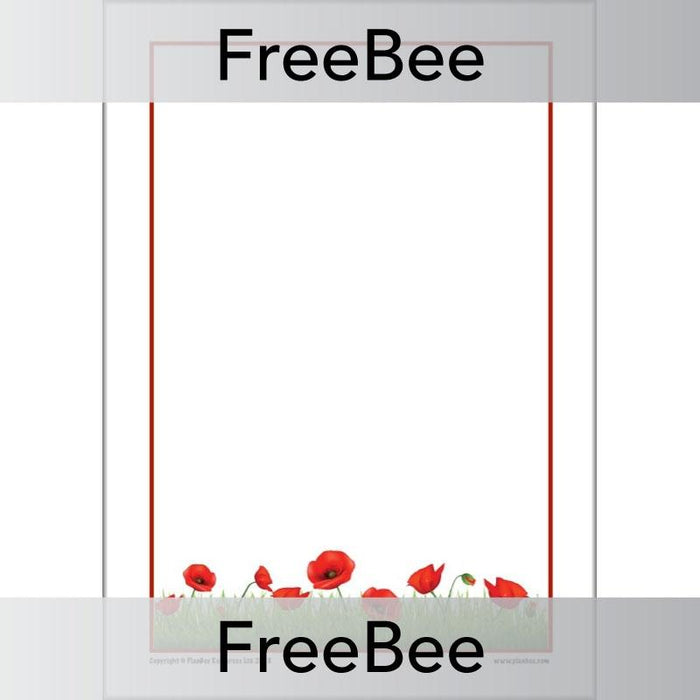 Poppy Writing Frame