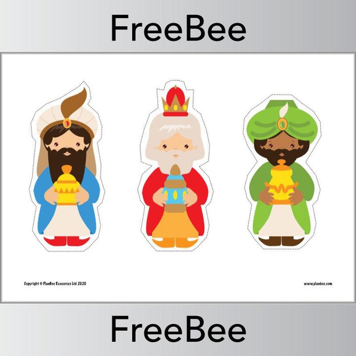 PlanBee Printable Nativity Scene