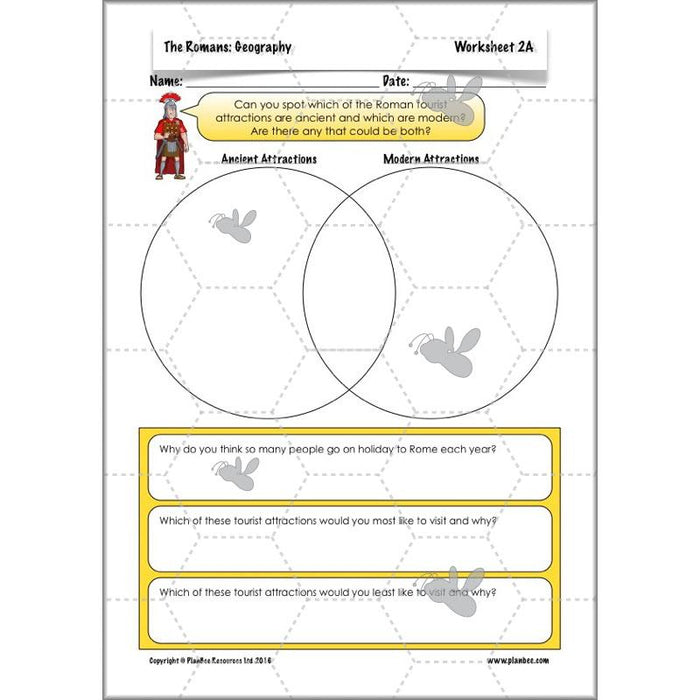 PlanBee Romans KS2 Planning | PlanBee Topic for Year 3 & Year 4