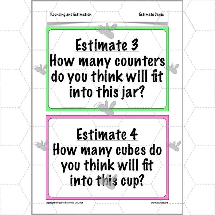 Rounding and Estimating: Estimation Challenges
