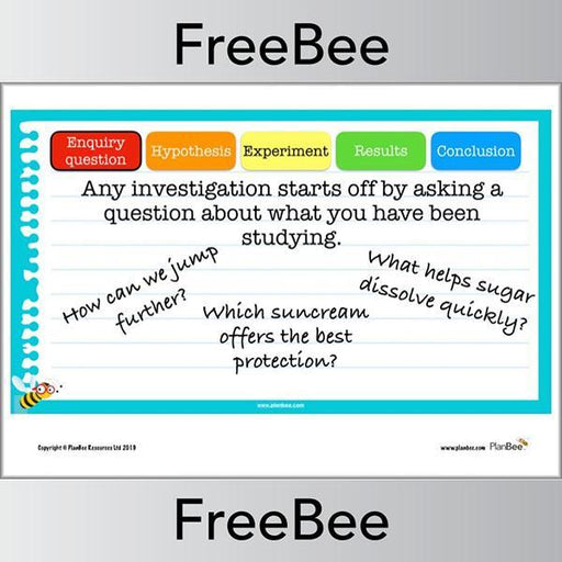 PlanBee Scientific Enquiry KS2