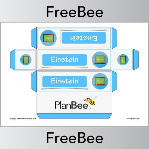 PlanBee Free Scientists Group Name Labels | Primary School