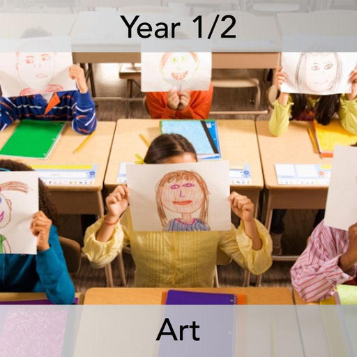 PlanBee Self Portrait: Primary Art Lessons for Year 1 & Year 2