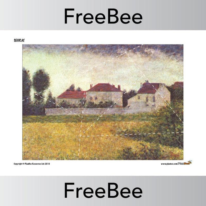 PlanBee Seurat Jigsaw Pack | Free Resources | PlanBee