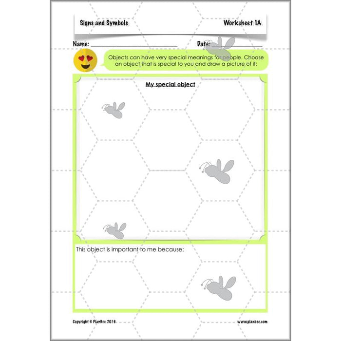 PlanBee Signs and Symbols - KS2 Year 3 RE Lesson Plans & Resources