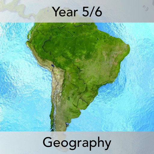 PlanBee South America KS2 Planning Pack for Year 5 and Year 6 | Geography
