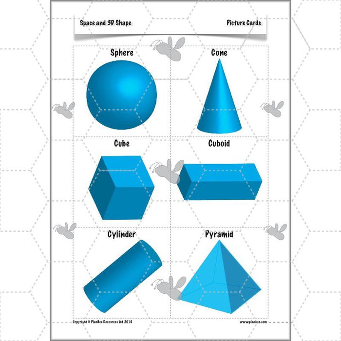Space and 3D Shape: Identifying 3D Shapes
