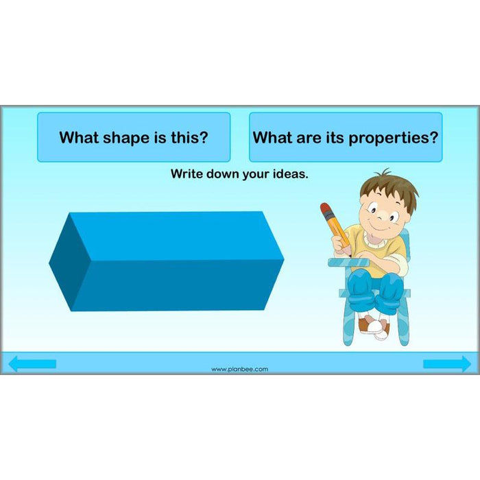 Space and 3D Shape: Describing 3D Shapes